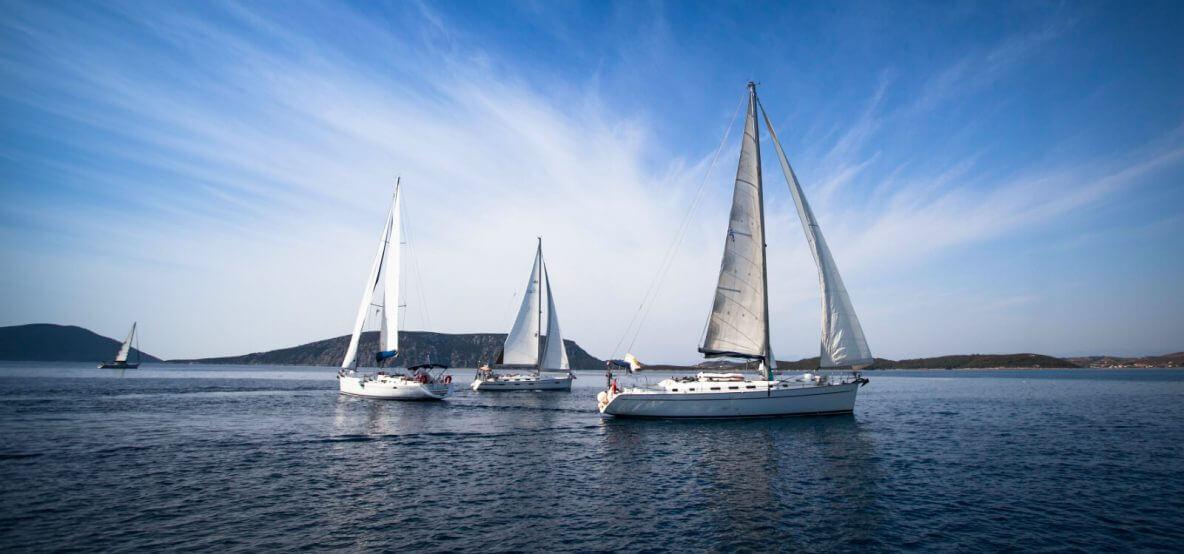 Sailing regatta in Bcn