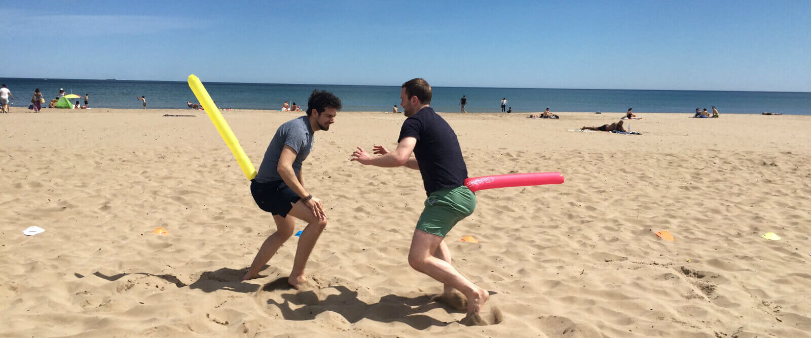 Corporate Team Building Beach Games
