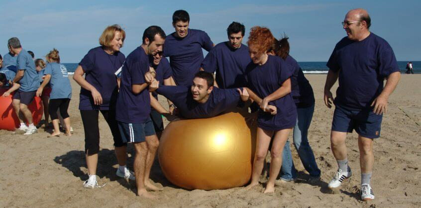 Beach gymkhana