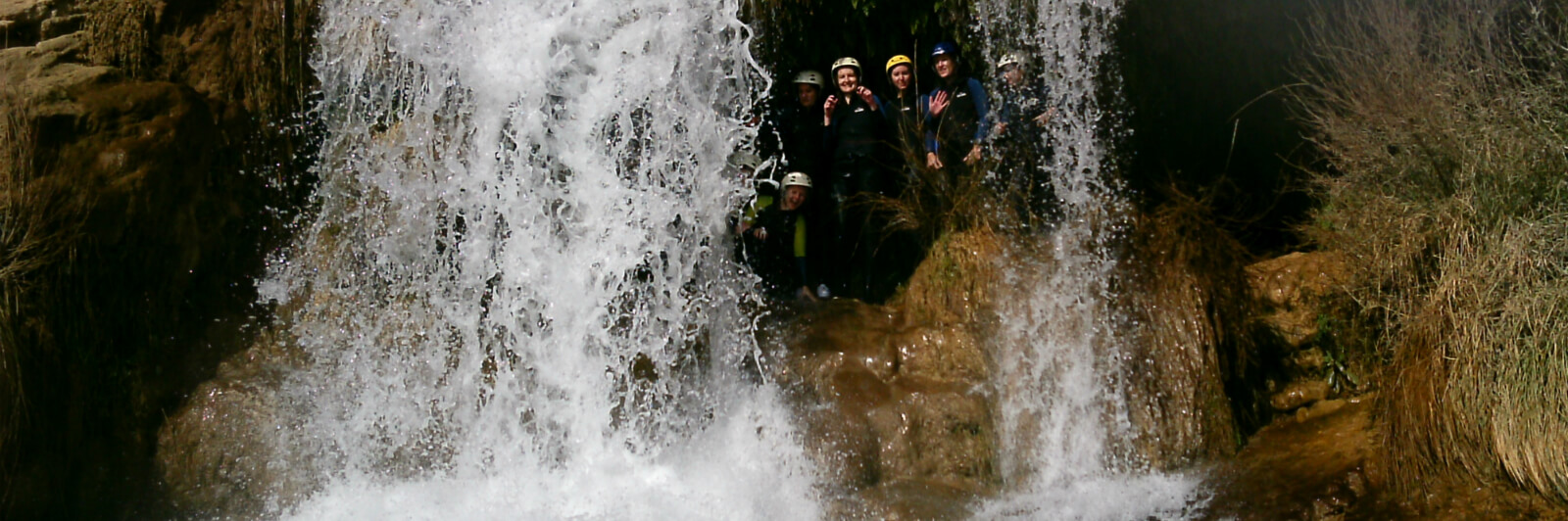 pic of canyoning