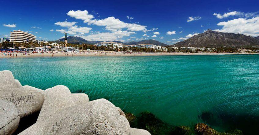 beach of marbella