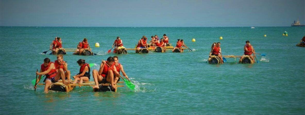 raft building comp