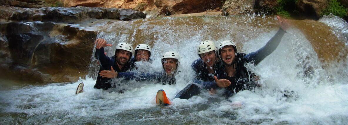 Water Canyoning