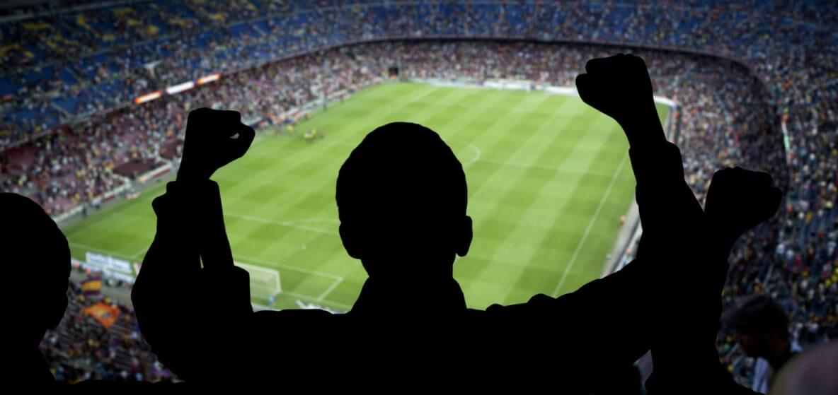Camp Nou football stadium